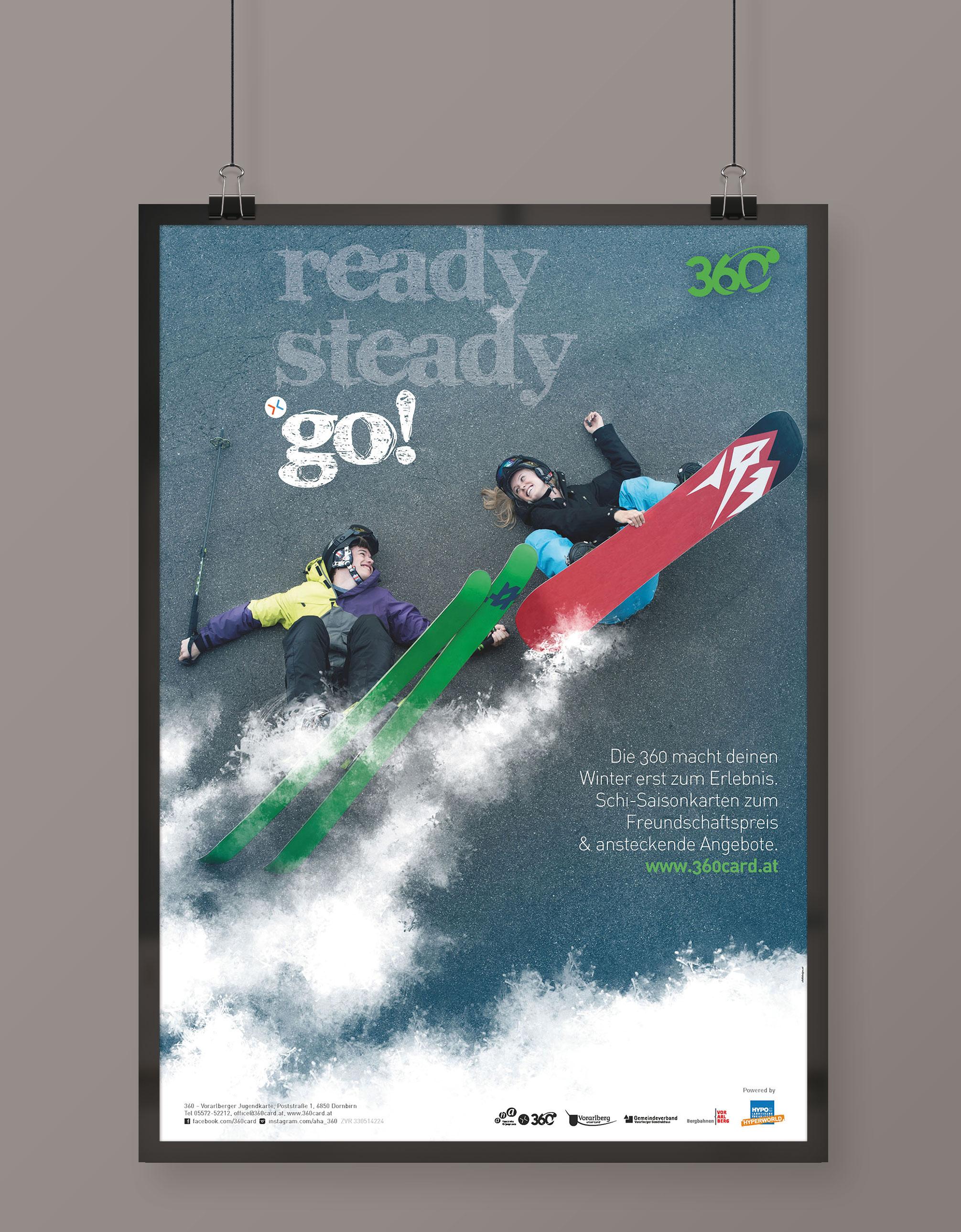 READY steady go! - Plakatserie